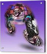 Skate Away Acrylic Print