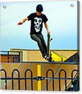 Skateboarding Xi Acrylic Print