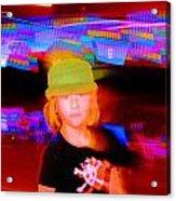 Skater Kid Acrylic Print