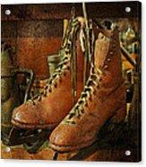 Skates Acrylic Print by Karen Lynch