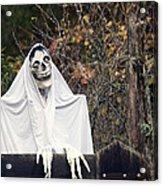 Skeleton Ghost Acrylic Print