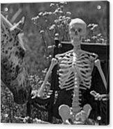 Skeleton In My Closet Acrylic Print