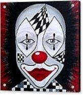 Skeptical...clown Acrylic Print