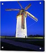 Skerries Mills Co Fingal, Ireland Acrylic Print by The Irish Image Collection
