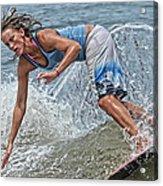 Skimmer Girl 3 Acrylic Print
