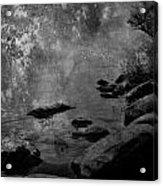 Skippin Rock  Acrylic Print