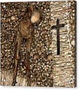Skull Church Acrylic Print