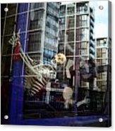 Skull Town Acrylic Print