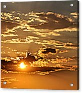 Sky Ablaze 1 Acrylic Print by Marty Koch
