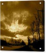 Sky Ablaze Acrylic Print