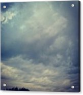 #sky #clouds #nature #andrography Acrylic Print by Kel Hill