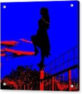 Sky Dancer Acrylic Print