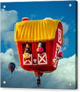 Sky Farming  Acrylic Print