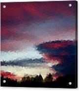 Sky Acrylic Print by Kevin Bone