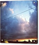 Sky Right Now Acrylic Print by Katie Cupcakes