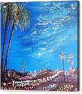 Sky So Blue Acrylic Print