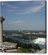Skylone Tower And Niagara Falls Acrylic Print