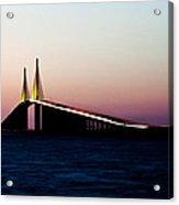 Skyway Bridge Tampa Bay Acrylic Print