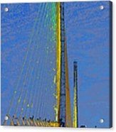 Skyway Crossing Acrylic Print by David Lee Thompson