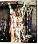 Slaughtered Ox Acrylic Print