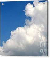 Sleeping Bear Cloud Acrylic Print