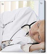 Sleeping Doctor Acrylic Print