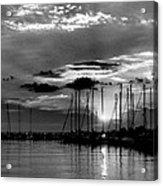 Sleepy Harbor Acrylic Print