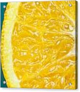 Sliced Orange Acrylic Print