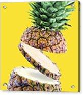 Sliced Pineapple Acrylic Print