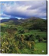 Slieve Bearnagh, Mourne Mountains, Co Acrylic Print