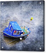 Small Fisherman Boat Acrylic Print by Svetlana Sewell