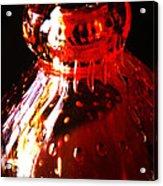 Small Red Vase Acrylic Print