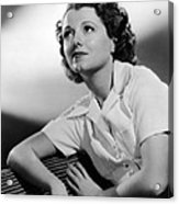 Small Town Girl, Janet Gaynor, 1936 Acrylic Print by Everett