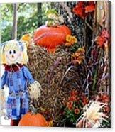 Smile It's Autumn Acrylic Print