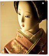 Smile Of Geisha Acrylic Print