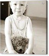 Smiling Baby Acrylic Print