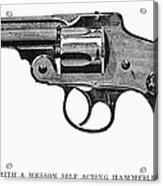 Smith & Wesson Revolver Acrylic Print