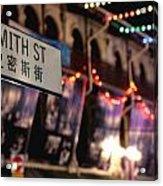 Smith Street Acrylic Print