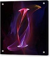 Smoke Dance Acrylic Print