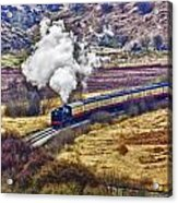 Smoke In The Valley Acrylic Print