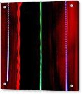 Smoke Mirrors Lines And Dots Acrylic Print