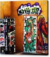 Smoke Shop Grafitti Art  Acrylic Print