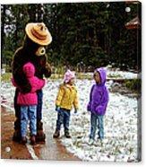 Smokey And The Girls Acrylic Print