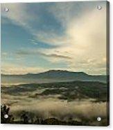 Smoky Mountain Rise   Acrylic Print by Glenn Lawrence