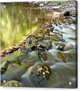 Smoky Mountain Streams Iv Acrylic Print