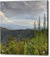 Smoky Mountain View Acrylic Print