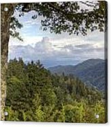 Smoky Mountain Vista Acrylic Print