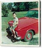 Snapshot From 1950s Acrylic Print