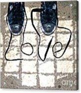 Sneaker Love 1 Acrylic Print