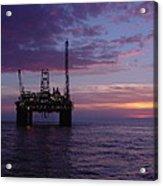 Snorre Sunset Acrylic Print